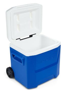 Igloo 16-Quart Laguna Roller Ice Chest Cooler with Wheels -
