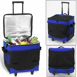 Picnic at Ascot 396-RB 60 Can Collapsible Rolling Cooler - 6