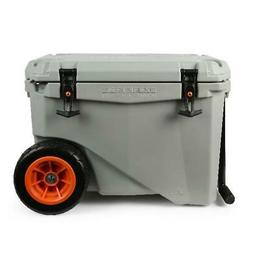 Heavy-Duty Camping Ice Boxes 45-Quart High-Performance Wheel