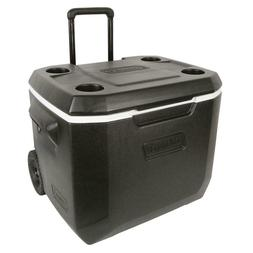 50 Quart Extreme 5-Day Heavy-Duty Cooler Telescoping Handle
