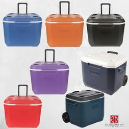 Coleman 50-Quart Xtreme 5 Day Heavy-Duty Cooler with Wheel,M