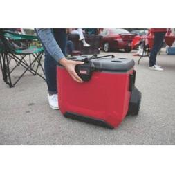 Coleman 55 qt Rugged 55 A/T Wheeled Cooler, Rugged EZ-Lift S