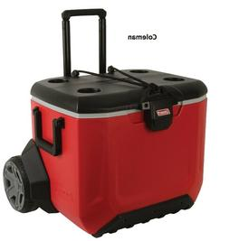 Coleman 55 QT Rugged AT Wheeled-Cooler