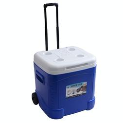 Igloo 60 Quart Insulated Cooler Ice Chest With Wheels Extend