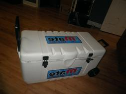 70 liter ice cooler  ice mate by evakool  large with wheels