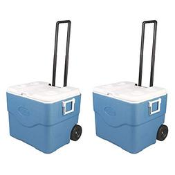 Coleman 75 Quart 118 Can Xtreme Wheeled Cooler with Extend H