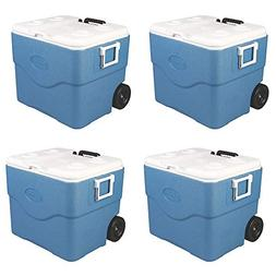 Coleman 75 Quart 118 Can Xtreme Wheeled Cooler with Telescop