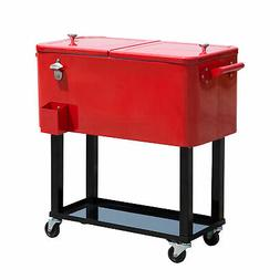 80 qt rolling ice chest