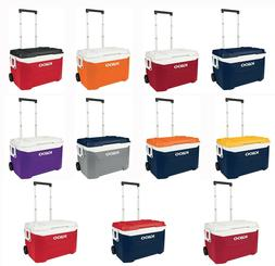 Igloo 94 Can Cooler 60 Quart Rolling Ice Chest Tailgate All