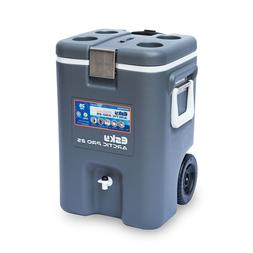 Esky ARCTIC PRO DRINK COOLER WITH TAP 25L, Wheels, Cup Holde