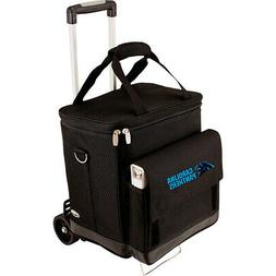 Picnic Time Carolina Panthers Cellar w/Trolley Outdoor Coole