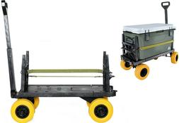 Cooler Cart Ice Chest Box Carrier Wagon with on Wheels Igloo