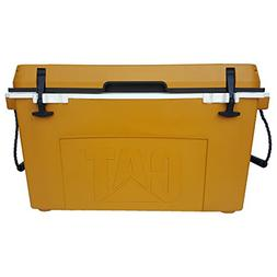 Caterpillar Cat Cooler, Cat Yellow, 55 Quart