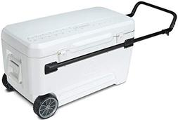 Nice CLF-517790 110 qt. White Wheeled Cooler