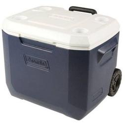 Coleman Xtreme 5 day 50 Quart Rolling Cooler DARK BLUE