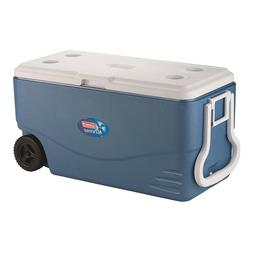 Cooler 100 Quart Travel Ice Box Camping Fishing Marine Bever