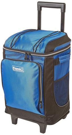 Cooler With Wheels Wheeled Roller Rolling Ice Chest Bag Tele