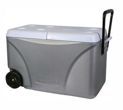 Rubbermaid DuraChill 75Quart Rolling Chest Cooler with Tow H