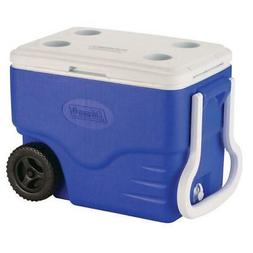 Easy-To-Tote 2-Wheeled 40 Qt. Cooler Rustproof  Leak-Resista