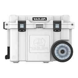Pelican Elite Wheeled Cooler White 45 qt.