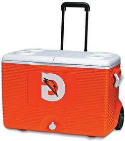Gatorade Rubbermaid Wheeled Cooler Ice Chest NEW Split Top 6