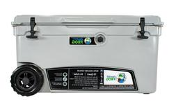 Frosted Frog Gray 70 Quart Ice Chest Heavy Duty Insulated Co