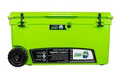 Frosted Frog Green 110 Quart Ice Chest Heavy Duty Insulated