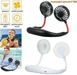 Hand Free Personal Fan Neckband Sport Fan Wearable Cooler Fa