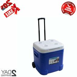 Ice Cube Xtreme Cooler Ice Chest 60Qt Outdoor Camping Picnic