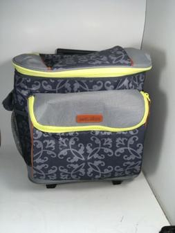 Arctic Zone Insulated Rolling Lunch Tote Cooler Portable 14.