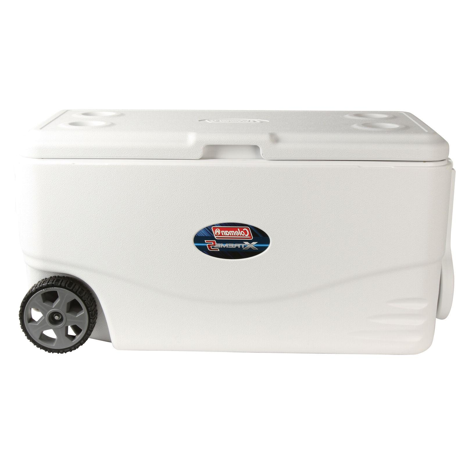 New Quart Extreme Heavy Duty Camping Cooler with