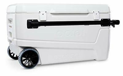 110 Portable Large Chest Wheeled Cooler
