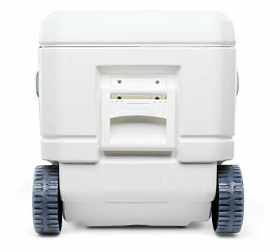 110 Qt Pro Portable Ice Wheeled Cooler