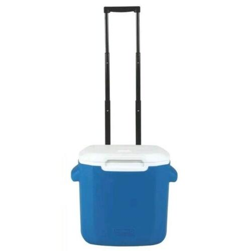 22 cans 16quart personal wheeled cooler blue