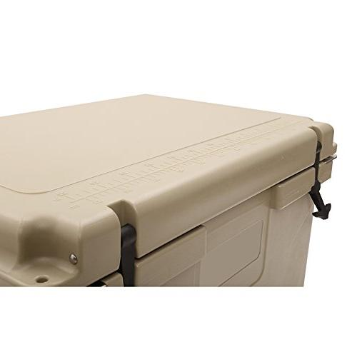 Uriah 80 with and Feet Capacity -Tan, White, 80 L