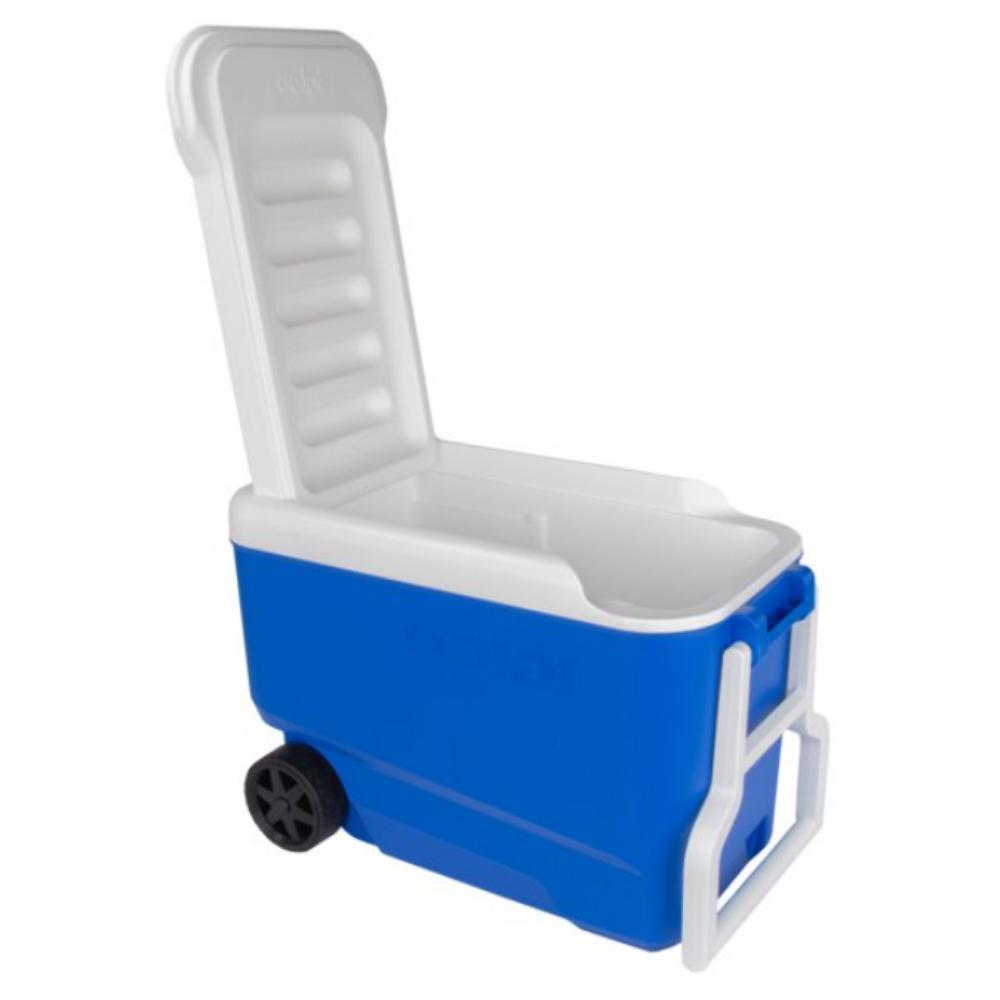 38 Cooler with Wheels - Blue, NEW