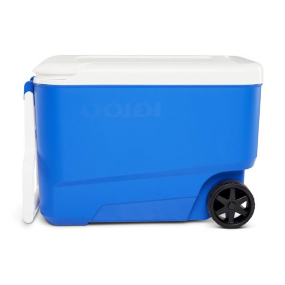 38 Cooler with Wheels Blue,