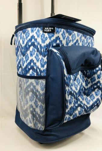 Polar Pack Insulated Wheeled Cooler Design Handle