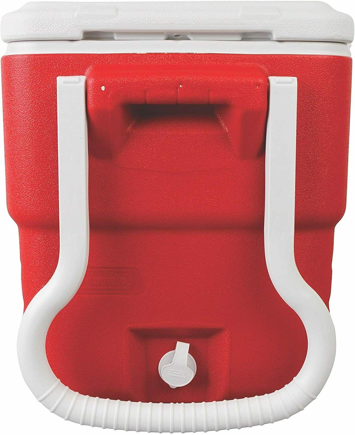 40 Quart Wheeled Cooler Extreme Outdoor Picnic