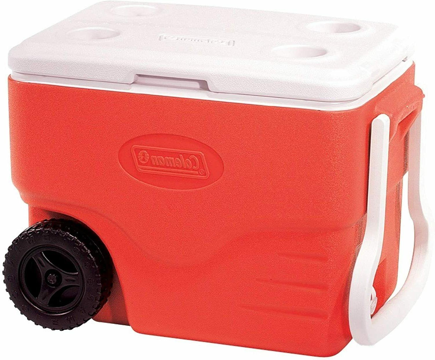 40 quart wheeled cooler extreme portable outdoor