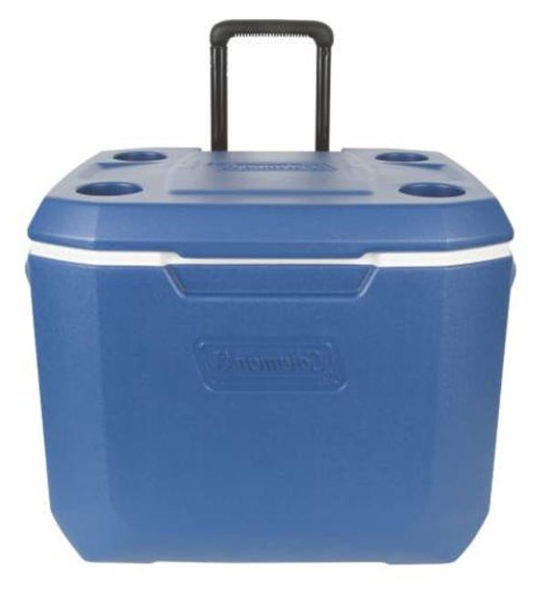 Coleman 50-Quart Xtreme 5 Day Heavy-Duty Cooler with Wheels,