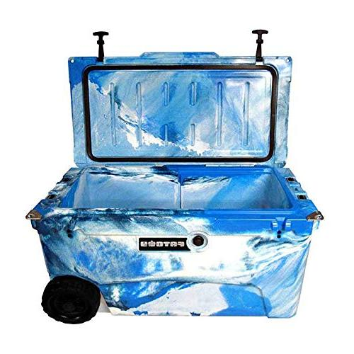 Fatboy 70QT Rotomolded Wheeled Chest Cooler Marine Camo