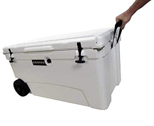 Fatboy 70QT Rotomolded Wheeled Chest Ice Box Marine