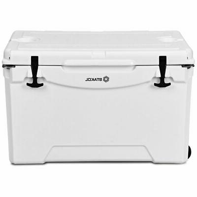 80 Cooler Wheels Ice Chest Heavy Duty Keep Warm