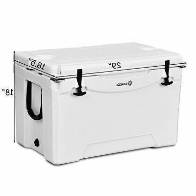 80 Cooler 2 Duty Fishing Warm White