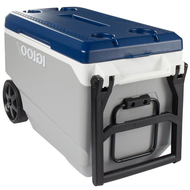 Igloo 90 Quart Wheeled Cooler Ice Chest,5 day, Camping, Fish