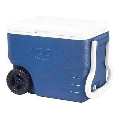 Coleman Wheeled 40 Heavy Leak-resistant Red/Blue