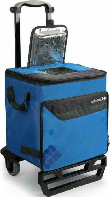 Columbia Crater Can Rolling Cooler 80 lb. C