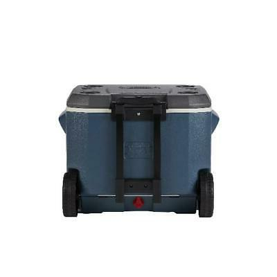 Coleman Cooler Wheeled 84 Can Capacity Gray 5-Day Cooling