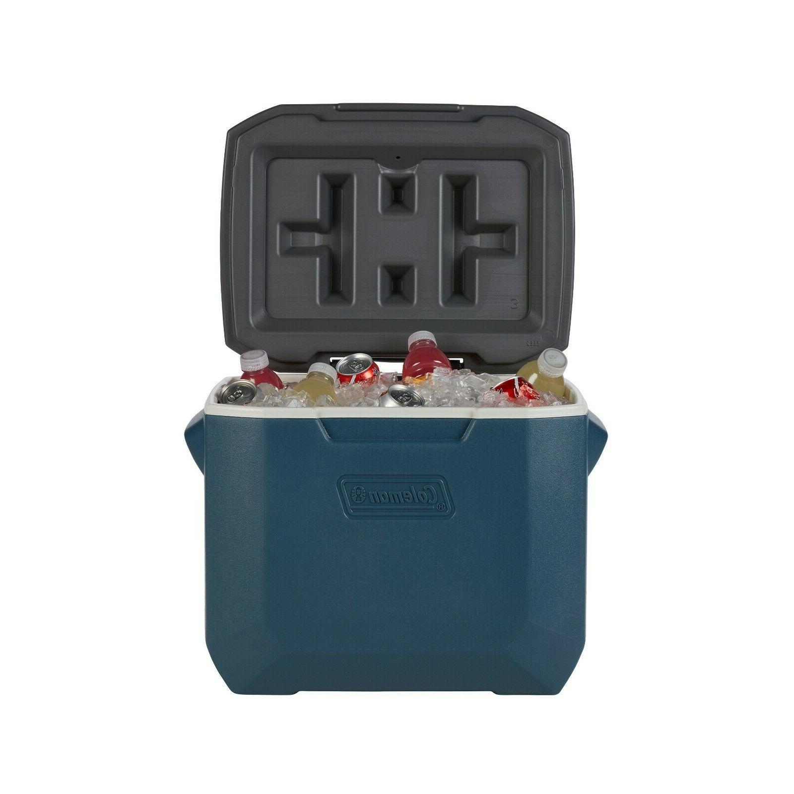 Coleman Ice Chest 50-Quart With Wheels Fun